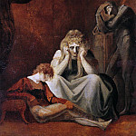 Henry (Fussli Fuseli - Here I and Sorrow Sit, Act II Scene I of King John by William Shakespeare (1564-1616)