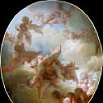 Jean Honore Fragonard - Swarm of Cupids