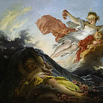 Jean Honore Fragonard - The Goddess Aurora triumphing over Night