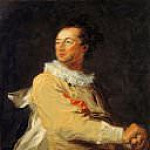 Portrait of Anne-François d'Harcourt, Duke of Beuvron, as a Character of the Comédie Italienne, M B Von Arco