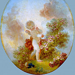 Jean Honore Fragonard - Love the Sentinel