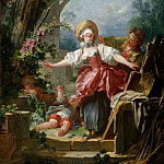 Blind mans buff, Jean Honore Fragonard