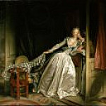 The Stolen Kiss, Jean Honore Fragonard