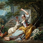 The Shepherdess, Jean Honore Fragonard