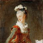 Marie-Madeleine Guimard , prima ballerina of the Paris Opera, Jean Honore Fragonard