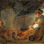 Jean Honore Fragonard - The beggar's dream