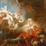 Jean Honore Fragonard - Warrior's Dream of Love