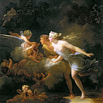 Jean Honore Fragonard - The Fountain of Love