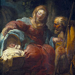 Rosalba Carriera - The Rest on the Flight into Egypt