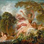 The bathers, Jean Honore Fragonard