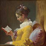 Young Girl Reading, Jean Honore Fragonard