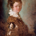 Jean Honore Fragonard - Portrait of a young woman