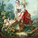 Jean Honore Fragonard - The Joys of Motherhood
