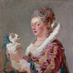 A Woman with a Dog, Jean Honore Fragonard