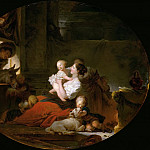 Jean Honore Fragonard - The Happy Family