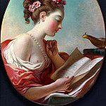 Jean Honore Fragonard - Young Woman Reading