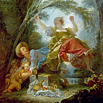 Jean Honore Fragonard - The See-Saw