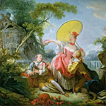 The Musical Contest, Jean Honore Fragonard