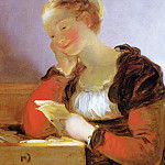 The Letter, Jean Honore Fragonard