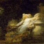 Love pledge, Jean Honore Fragonard