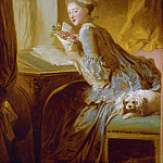 The Love Letter, Jean Honore Fragonard