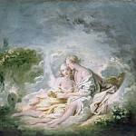 Jean Honore Fragonard - Jupiter And Callisto