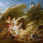 Jean Honore Fragonard - In Wheat