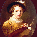 Portrait of a young painter, Jean Honore Fragonard