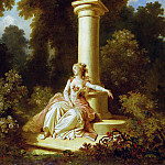The Progress of Love: Reverie, Jean Honore Fragonard