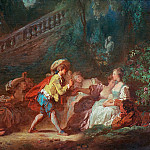 Game in the Park, Jean Honore Fragonard