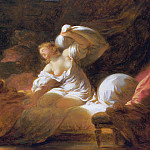 The Useless Resistance, Jean Honore Fragonard