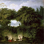 The Small Park, Jean Honore Fragonard
