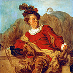 Jean Honore Fragonard - The abbot of Saint-Non in Spanish clothing