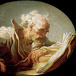 Jean Honore Fragonard - The Philosopher