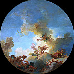 Jean Honore Fragonard - The Triumph of Venus