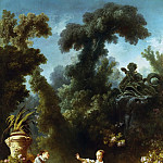 Jean Honore Fragonard - The Progress of Love: The Pursuit