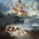 Day and Night, Jean Honore Fragonard