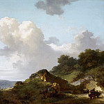 Mountain landscape, Jean Honore Fragonard