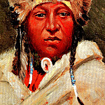 Henry François Farny - Chief Little Bear 1904