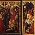 Uffizi - Resurrection Of Lazarus (Triptych)