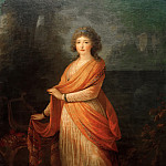 Friedrich Georg Weitsch - Princess Varvara Vasiljena Galitsina