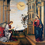 Donato Bramante - The Annunciation
