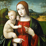Gentile da Fabriano - Virgin and Child (school)