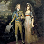 Michelangelo Cerquozzi - Gustav IV Adolf, 1778-1837, King of Sweden and Fredrika Dorotea Vilhelmina, 1781-1826