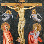 Garofalo (Benvenuto Tisi) - Crucifixion with the Virgin, Saint John the Evangelist, and a Dominican Monk