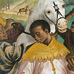 Simone Peterzano - Triptych with Adoration of the Magi (right wing)