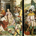Mattia Preti - Triptych with Adoration of the Magi