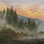 Caspar David Friedrich - morning