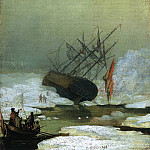 Caspar David Friedrich - Wreck By The Sea