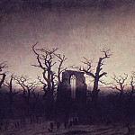Caspar David Friedrich - Abbey in an Oak Forest